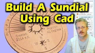 Using CAD to Create Custom Horizontal Sundial