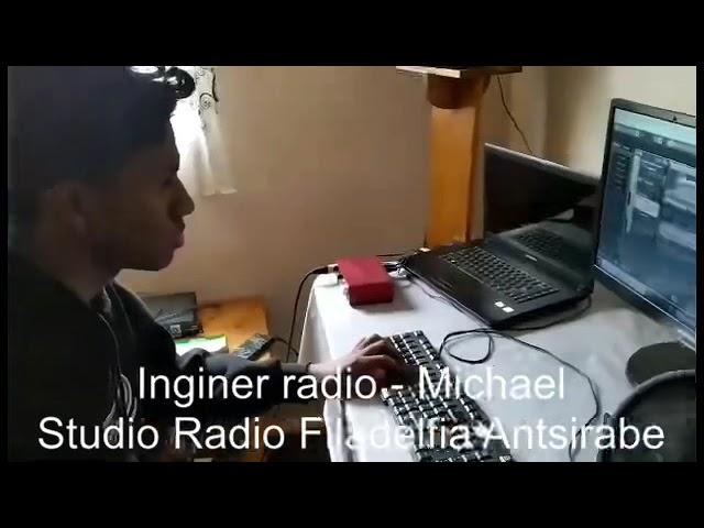 Michael - vârf de lance în proiectul Radio Filadelfia din Antsirabe