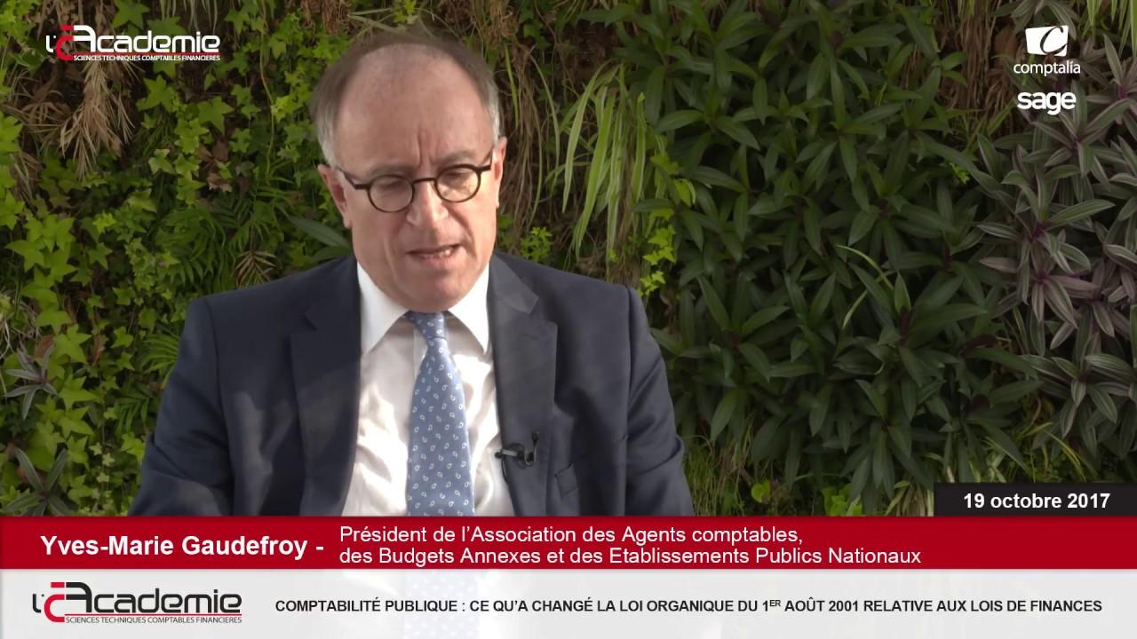 Les Entretiens de l'Académie : Yves-Marie Gaudedroy
