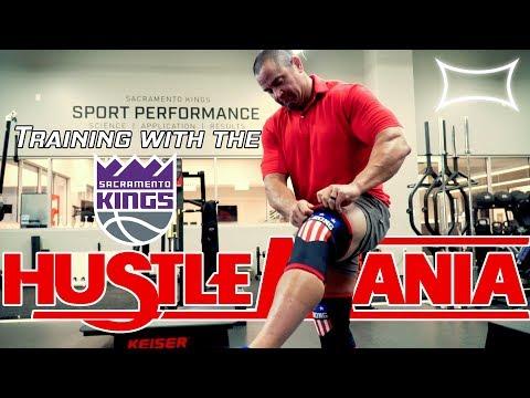 Mark Bell Trains with the Sacramento Kings | Hustlemania 18