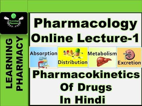 Pharmacokinetics/ADME Of Drugs | Pharmacology Online Lecture-1 | For Upcoming D.Pharm & B.Pharm Exam