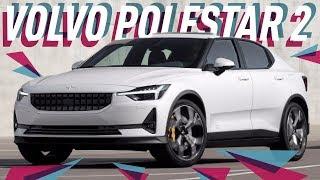 Volvo Polestar 2 с Женевского автосалона 2019