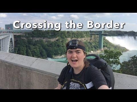 Crossing The Border - Niagara Falls, Canada