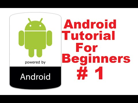 Android tutorial for beginners 1 # introduction and installing and.