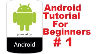 Android Studio Tutorial for Beginners (Step by Step tutorial)