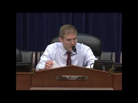 Rep. Jordan - Continued Oversight Over the Internal Revenue Service