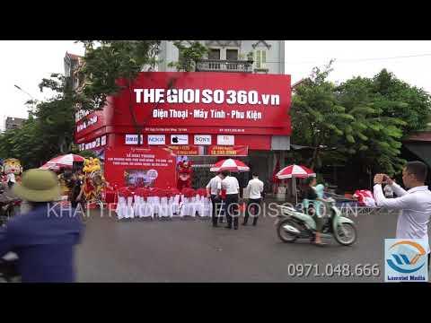Sự kiện Khai trương Thế Giới Số 360 tại Từ Sơn