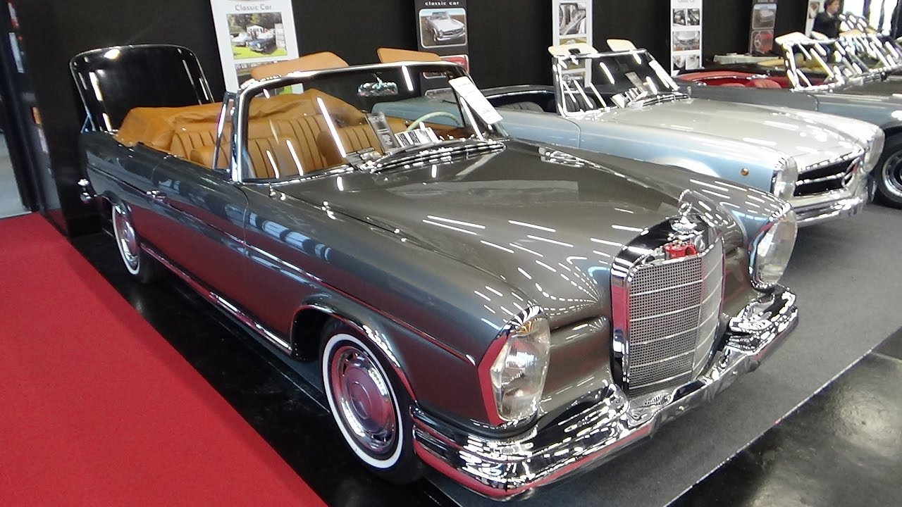 1963 Mercedes Benz 300 Se Cabriolet Exterior And Interior Clic Expo Salzburg 2016