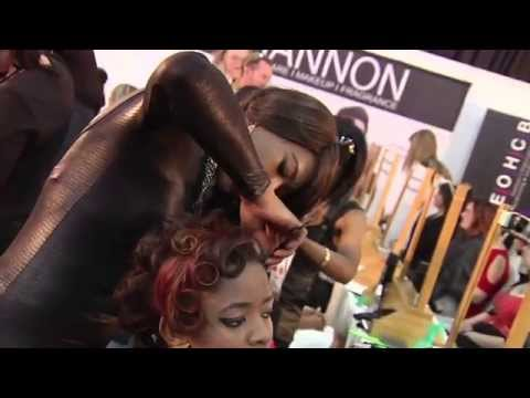 PROFESSIONAL HAIR  & BEAUTY EXPO 2014 @ GALLAGHER CONVENTION CENTRE