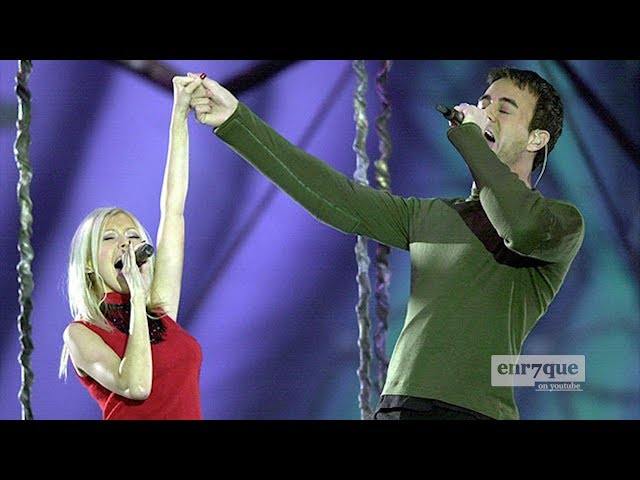 Enrique Iglesias, Christina Aguilera - Celebrate the Future Hand in Hand