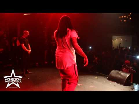 Waka Flocka Performs 50k Live in Houston