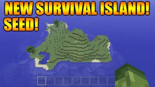 ★Minecraft Xbox 360 + PS3: Cool NEW TU29 Survival Island Seed - At Spawn + 90 Percent Water Seed ★