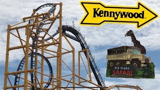 Six Flags GAdv Vlog - Safari Member Appreciation Pin Day + Kennywood Travel Vlog!