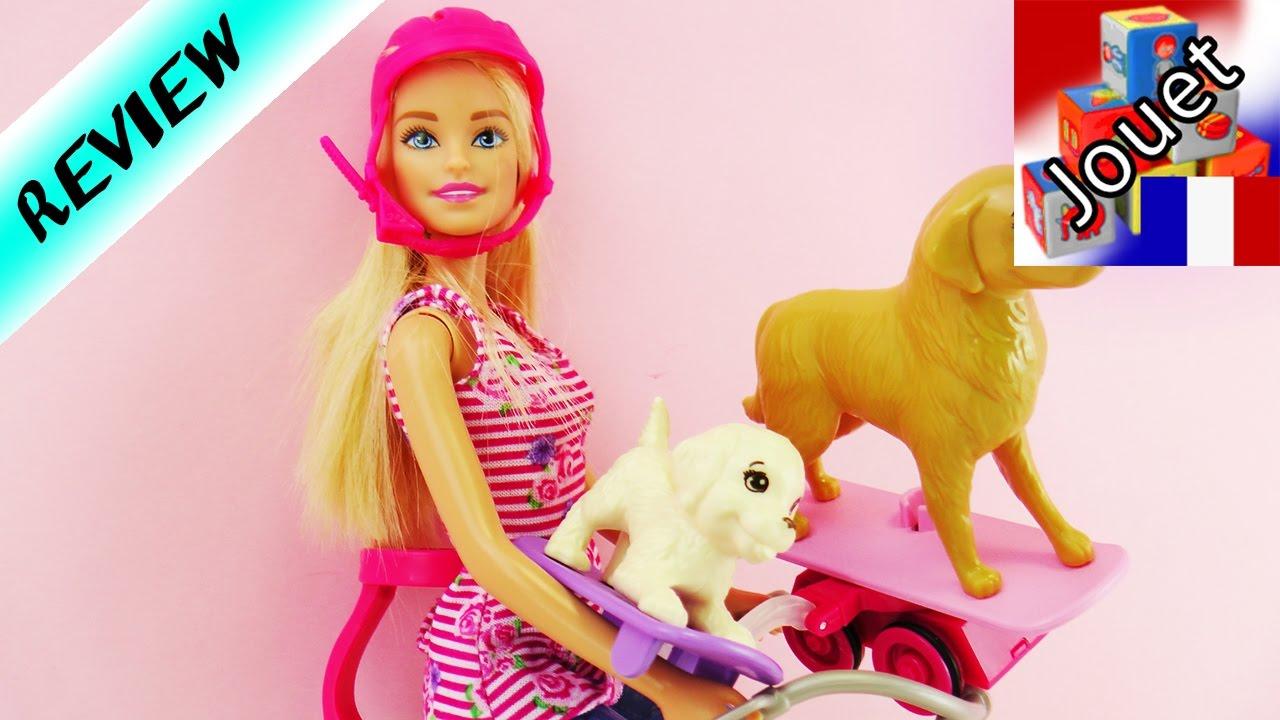 Barbie et son chien avec v lo et skateboard la grande aventure youtube - Barbie et son chien ...