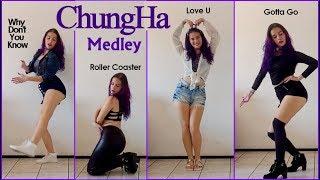 Baixar CHUNGHA (청하) Medley Dance Cover - Why Don't You Know, Roller Coaster, Love U, Gotta Go