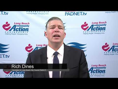 Rich Dines - Council District 5 Candidate - 2018 Long Beach Primary