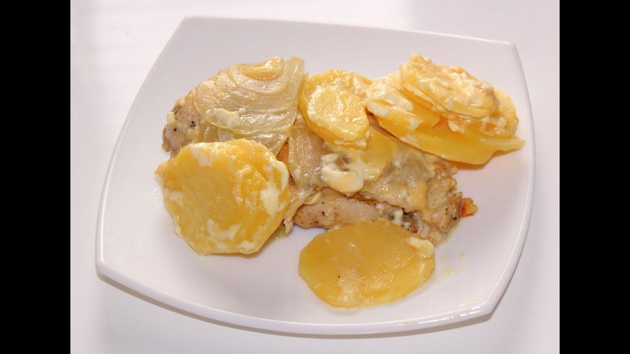 курица по французски с картошкой в мультиварке