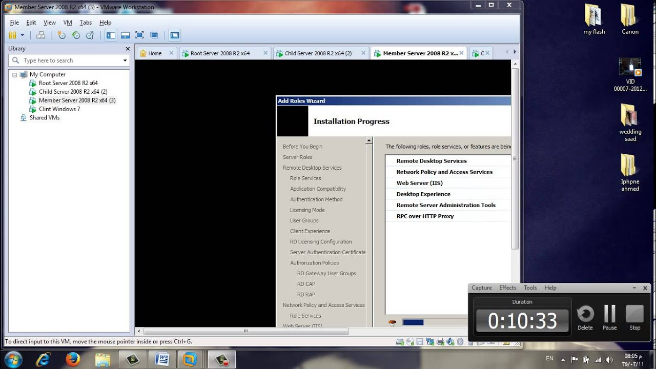 Remote Desktop Web Access in Windows Server 2008 R2 #part1
