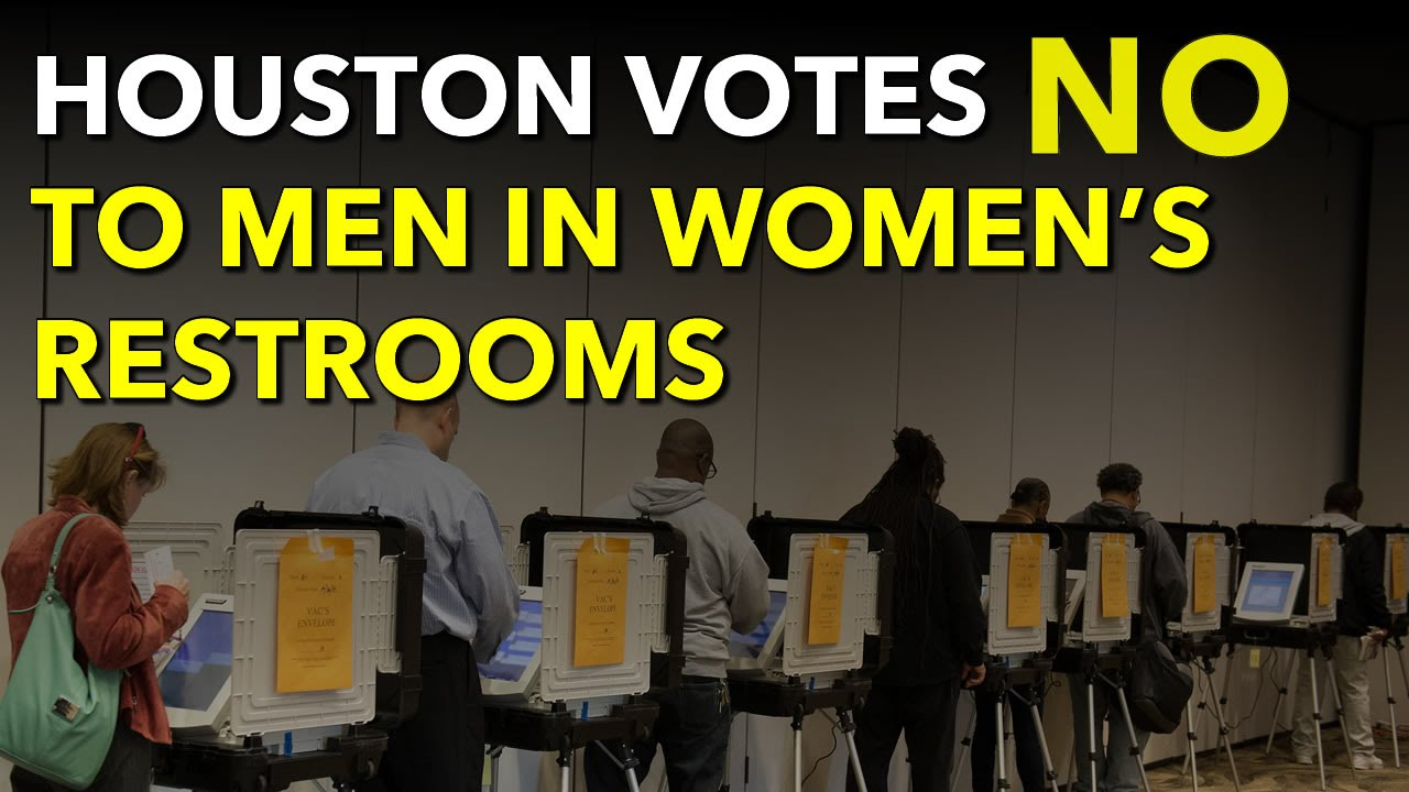 houston votes no to men in women's restrooms; hero ordinance
