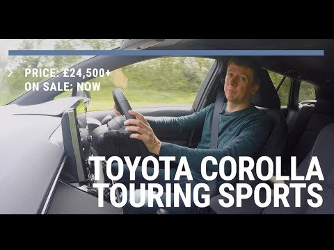 Unscripted | First Drive Review | Toyota Corolla Touring Sports - stupid name, great hybrid estate