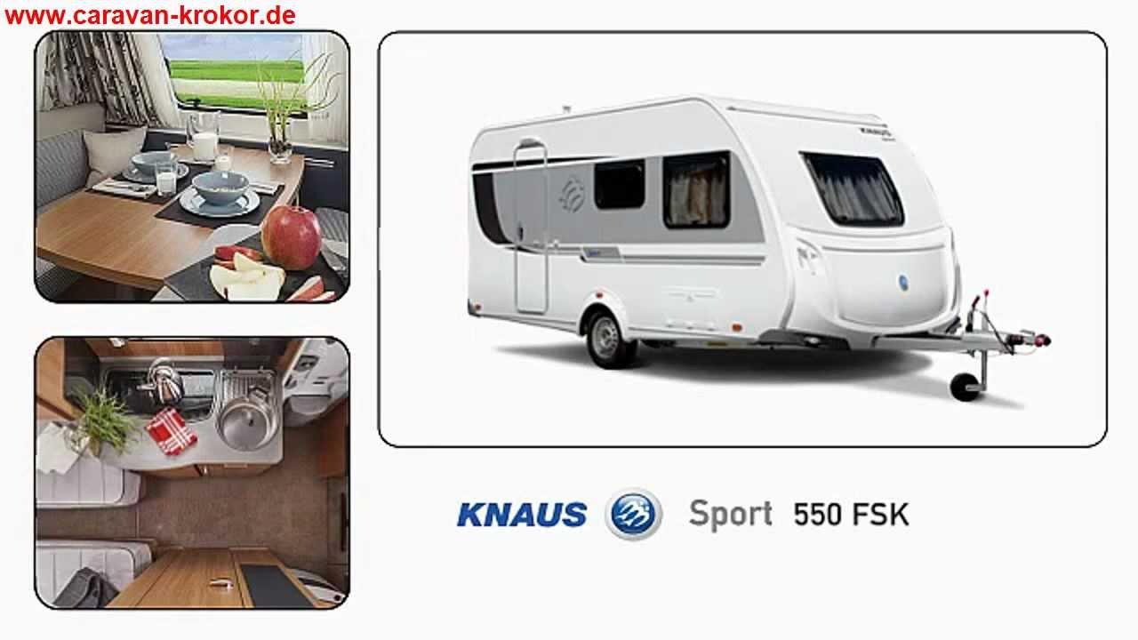 knaus sport 550 fsk modell 2013 wohnwagen caravan test. Black Bedroom Furniture Sets. Home Design Ideas