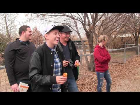 Actor Jason London visits the GW Rescue Park