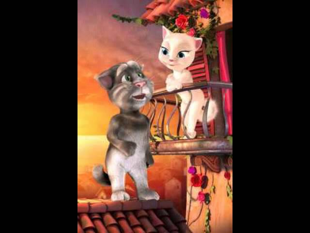 Talking Tom Cat Insulta a Angela Videos De Viajes