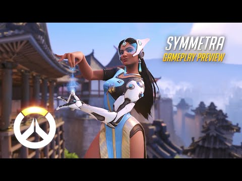 Symmetra Gameplay Preview | Overwatch | 1080p HD, 60 FPS