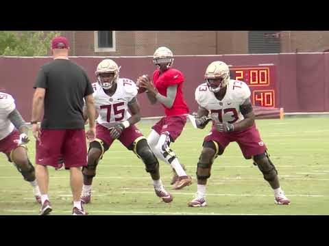 Florida State Seminoles football raw practice video (10/23)