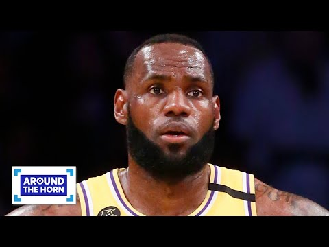 Does LeBron Have The Most To Lose If The NBA Season Ends? | Around The Horn