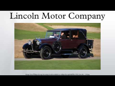 lincoln motor company youtube