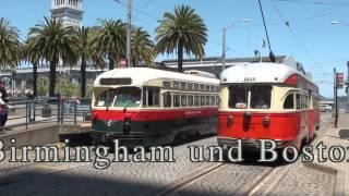 2012 05 22+23 Tram F Linie + Cable Car San Francisco
