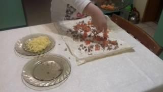 Вкусный и быстрый завтрак из лаваша