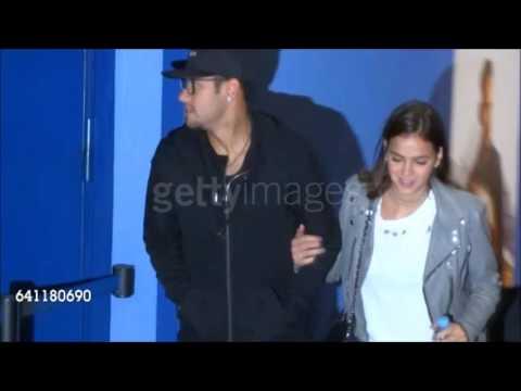 Neymar e Bruna Marquezine cinema Barcelona 06/02/2017 #Brumar