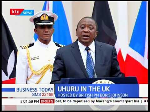 President Uhuru addresses UK-Africa 2020 Trade Summit