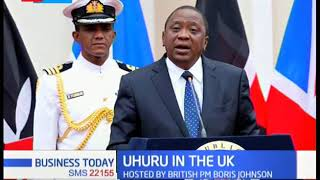 President Uhuru addresses UK-Africa 2020 Trade Summit