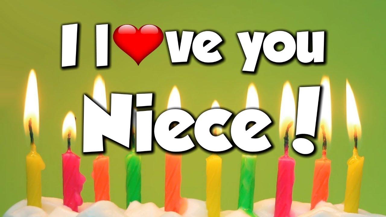 I Love You Niece Congratulations Happy Birthday Song Youtube