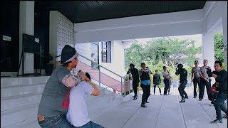 Detik Detik PERAMPOKAN Bank BRI Cabang Enrekang Yang Berhasil Digagalkan Polisi