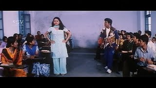 Shivarajkumar's College Exam Result Comedy Scene | Shivrajkumar Best Scenes from Kannada Movie