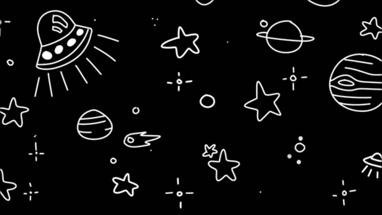 Aliens Cute Wallpaper Freckles And Constellations Doddleoddle Edited Version