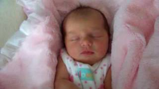 The Most Beautiful Newborn Baby Girl Ever - Two Days Old - Lilah