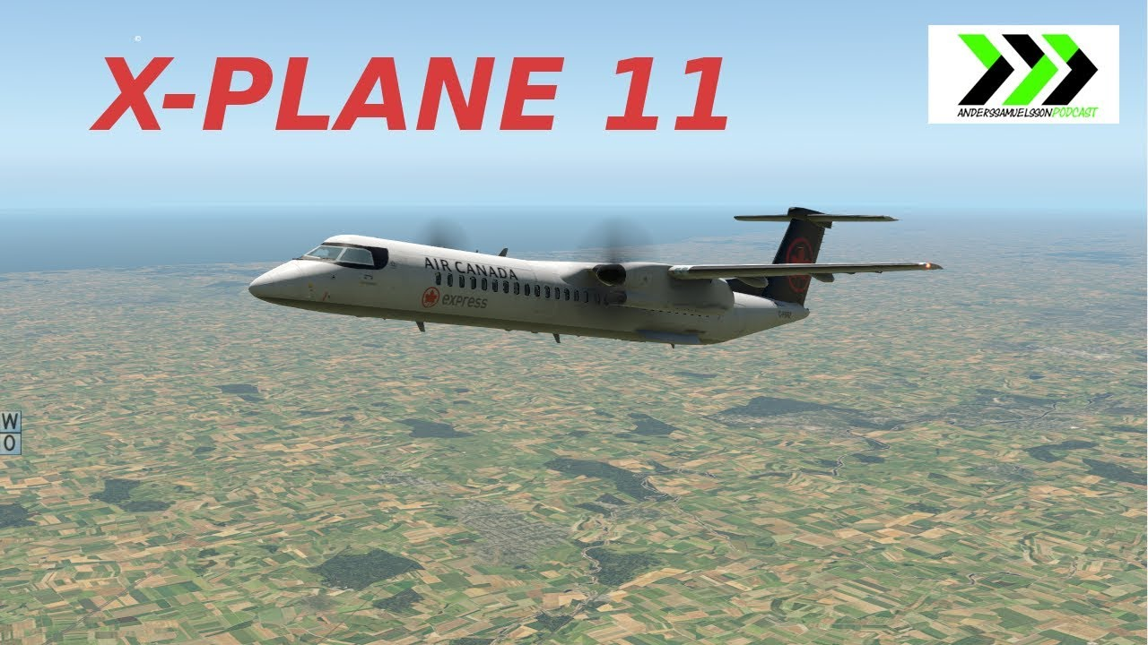 The FlyJsim Dash-8-400 for X-plane 11