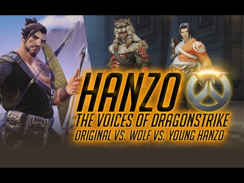Hanzo  The voice of Dragonstrike. Old Vs. Wolf Vs. Young