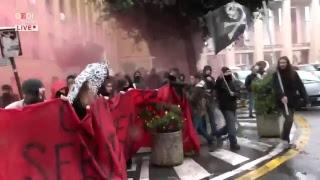 Roma, mobilitazione degli studenti contro il governo