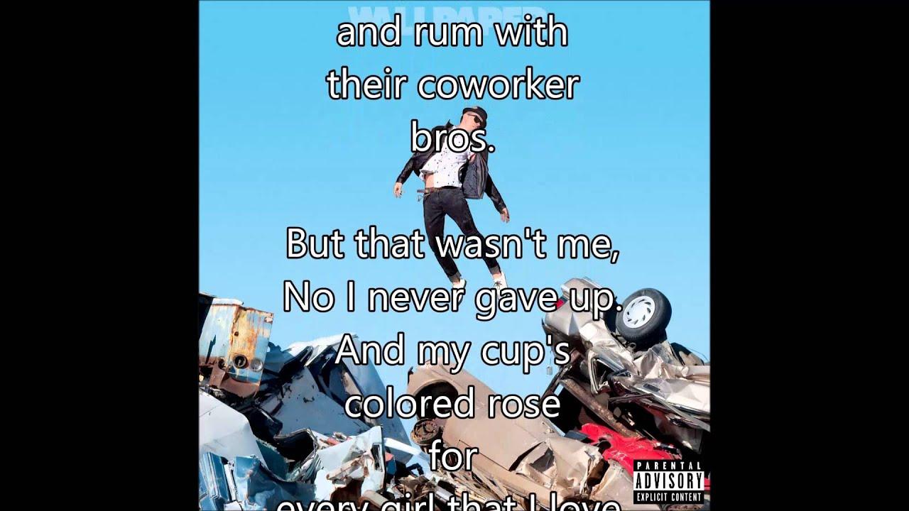 who rly crs lyrics