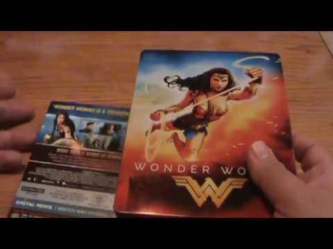 Wonder Woman 4K Blu-ray Steelbook Unboxing