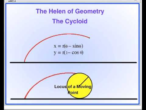 Scratch Programming: Cycloid – The Helen of Geometry