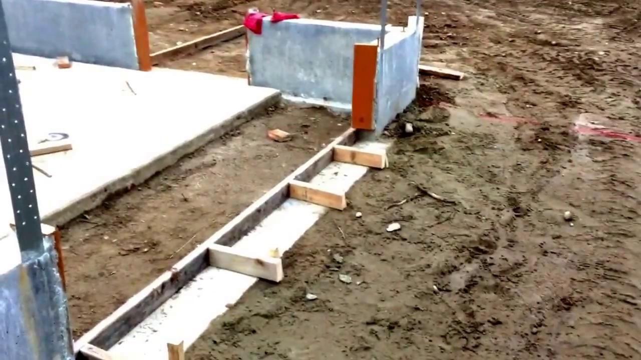 Build My Garage 8 Prep To Pour Concrete Slab