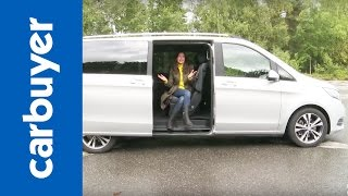 vuclip Mercedes V-Class MPV 2015 review - Carbuyer