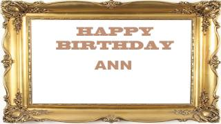 Ann   Birthday Postcards & Postales - Happy Birthday